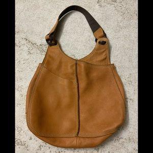 Lucky Brand Leather Vintage Hobo Bag